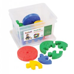 Image of Puzzle Pie Manipulative Set (30 Pieces)