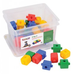 2-by-2 Manipulative Set (36 Pieces)