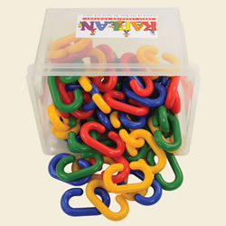 Chain Links Jumbo Manipulative Set - 60 Pieces
