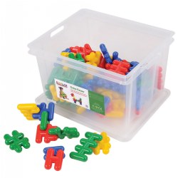 Criss Cross Jumbo Manipulative Set - 72 Pieces