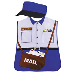 Mail Carrier Community Worker Play Smock