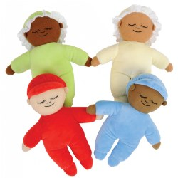 Sweet Kaplan Kuddle Dolls
