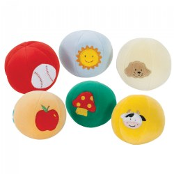 Soft-Color Ball - Set of 6