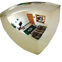Quarter Dome Observation Mirror