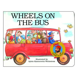 Wheels On The Bus - Board Book