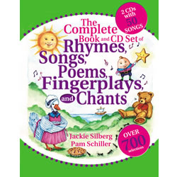 Complete Book and CD of Rhymes, Songs, Poems, Fingerplays and Chants