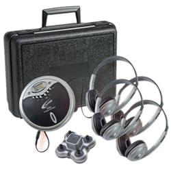 Portable CD Listening Center
