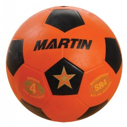 Youth Soccer Ball Size 4 - Orange
