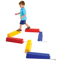Step A Logs For Children - Exercise and Build Coordination