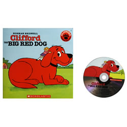 Clifford the Big Red Dog - Paperback & CD