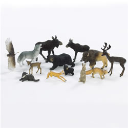 North American Wildlife (Set of 13)