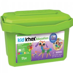 Kid K'NEX® Education Set for Preschoolers with 131 Pieces