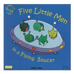 Five Little Men in a Flying Saucer - Paperback
