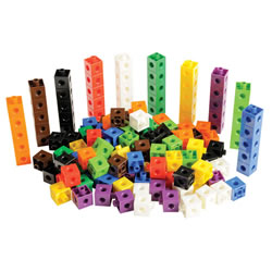 Linking Cubes Jar - 150 Pieces