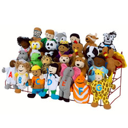 Alphabet Puppets (Set of 26)