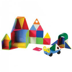 Magna-Tiles® 48-Piece DX Set