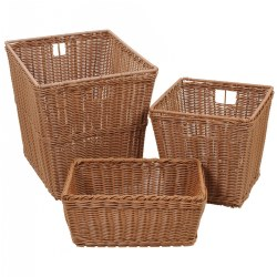 Washable Wicker Baskets