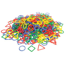 Shape Links Jar (500 Pieces)