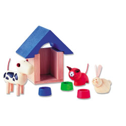 Dollhouse Pet and Accessories Furniture