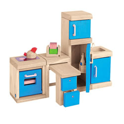 Dollhouse Neo Kitchen Furniture Group - 4 Piece Set
