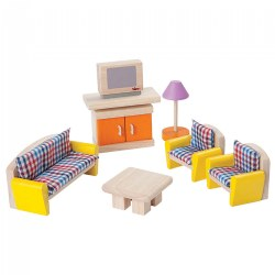 Dollhouse Neo Living Room Furniture Group - 7 Piece Set