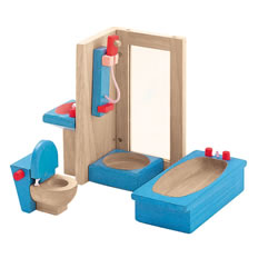 Dollhouse Neo Bathroom Furniture Group - 4 Piece Set