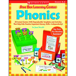 Enrich your student learning center with make-and-store kits! This book has 80 pages and includes 30 skill-building games and activities that help students practice and reinforce phonics skills and concepts. Each box can be assembled with readily available materials and includes reproducible labels, easy-to-read student directions, and reproducible game boards and worksheets. Meets key Language Arts Standards.