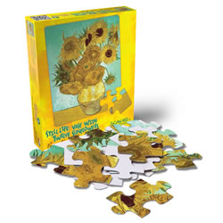 Van Gogh Sunflower Children's 24 Piece Jigsaw Puzzle