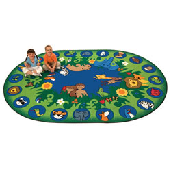 "Garden Of Eden Carpet 6'9"" x 9'5"""
