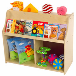 Toddler Book Display & Storage