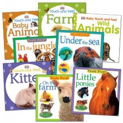 Feels Real Board Books - Set of 8