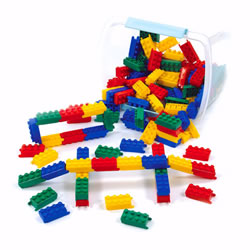 Toddler Flexiblocks® - 120 Piece Building Set with Unique Pivoting Action