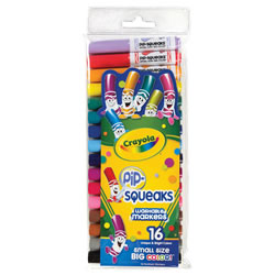 Crayola® 16-Count Pip-Squeaks Markers (Single Box)
