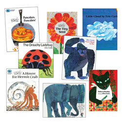 Eric Carle Paperback Collection (Set of 8)