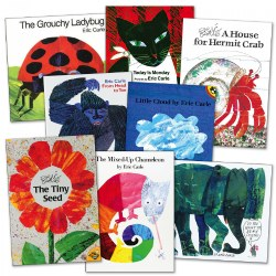 Eric Carle Paperback Collection - Set of 8