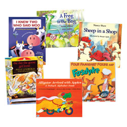 Animal Rhymes Book Set (Set of 6)