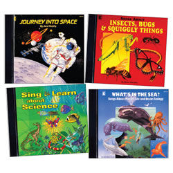 Learn About Science Through Music CD Set (Set of 4)