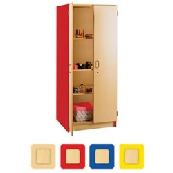 Nature Color 6' Tall Teacher's Storage Cabinet