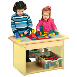 Nature Color Single Play Table - Natural