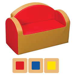 Toddler Two-Tone Love Seat