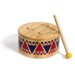 Solid Drum for Children