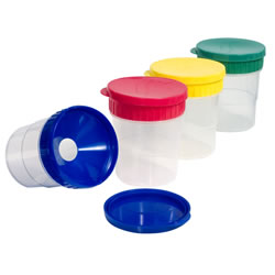 Spill Proof Paint Cups