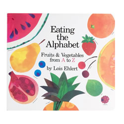 Image of Eating the Alphabet - Lap Board Book