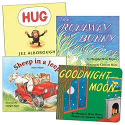 Lap Size Board Books Set A - Set of 4