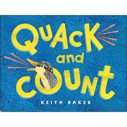 Quack and Count Board Book