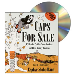 Caps For Sale - CD & Paperback