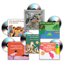 6 Book Titles (4 copies of each) and 6 CD's - Set 2