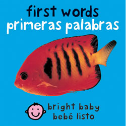First Words Bilingual Board Book