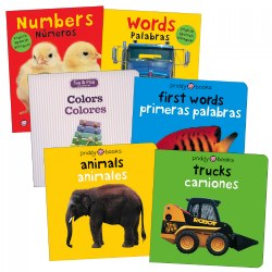 Bright Bilingual Board Books - Set of 6