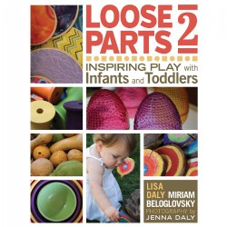 "This follow-up to the wildly popular ""Loose Parts: Inspiring Play in Young Children"" brings the fun of found objects to infants and toddlers. A variety of new and innovative loose parts ideas are paired with beautiful photography to inspire safe loose parts play in your infant toddler environment. Learn about the safety considerations of each age group and how to appropriately select materials for your children. Captivating classroom stories and proven science, provide the context for how this style of play supports children's development and learning. Because the possibilities are endless, each child can use the materials appropriate for their developmental level and safely explore their world. Age focus: 0 - 3. Paperback. 272 pages."